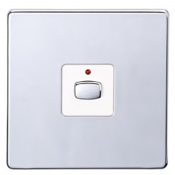 Energenie Mi|Home Smart Single Light Switch (Chrome)