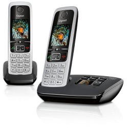 Gigaset C430A Duo Cordless Phone With Answer Machine - 2 Handsets