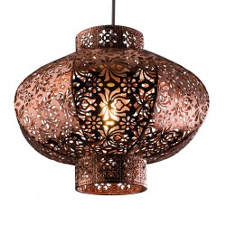ENDON LIGHTING - RUSKIN 30cm COPPER PENDANT SHADE