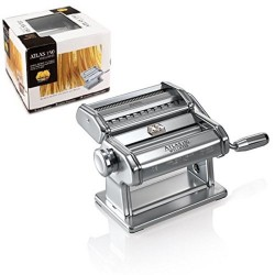 Marcato Atlas 150 Wellness Pasta Machine,  2 Rollers For Fettuccini, Tagliatelle, Lasagne