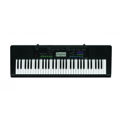 CASIO CTK-3400SK 61 Key Electric Keyboard, Mains or Batteries, Great for Gigging