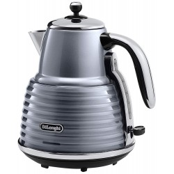 DeLonghi Scultura KBZ3001GY Electric Kettle - Grey