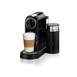 Nespresso CitiZ and Milk Coffee Machine, Black by Magimix [Energy Class A]