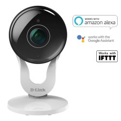 D-Link DCS-8300LH Full HD Wi-Fi Camera, 2 Way Audio, Works With Alexa, Google Assist