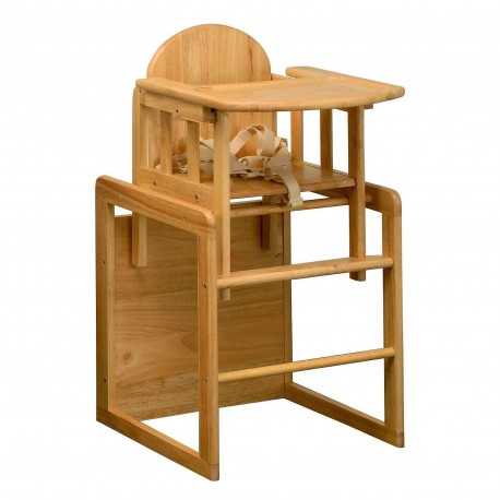 East Coast Wooden Combination High Chair & Table