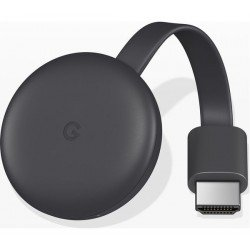 GOOGLE Chromecast - Third Generation, Charcoal