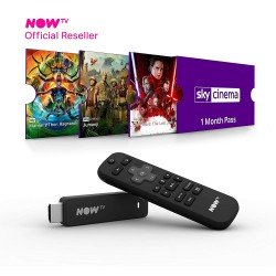 NOW TV Smart Stick With HD + Voice Search