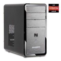 Zoostorm Desktop PC AMD A4-3300 Radeon HD Graphics, Win 10, Keyboard, Mouse