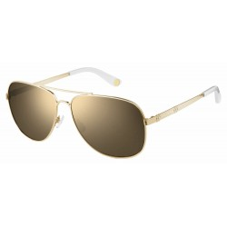 Juicy Couture JU589/S Mirror Coated Aviator Style Sunglasses