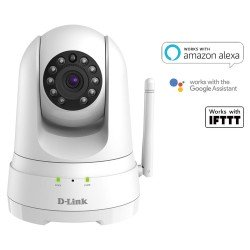 D-Link DCS-8525LH Full HD Pan & Tilt Wi‑Fi/Ethernet IP Camera, 2 Way Audio