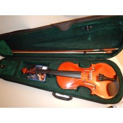 Cremona Francesco Cervini HV-100 4/4 Violin With Case, Bow, Rosin, Bridges