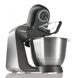 Bosch MUM57830GB Food Mixer, 900 W, 3.9 L Bowl + Accessories - Titanium