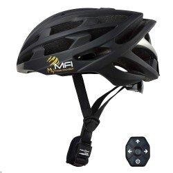 Mymfi Unisex Lumex Pro Smart Cycle Helmet
