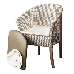 Patterson Medical Basket Weave Commode Chair