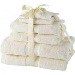 Victoria London 6pc Luxury 100% Cotton Towel Bale - 2 Bath, 2 Hand, 2 Face
