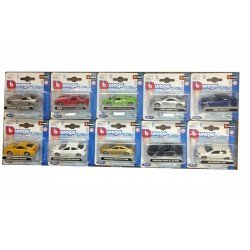 BBurago Collection 1/64 Scale Die Cast Supercars - Collection Of 10 Models