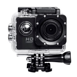 GoPlus 12MP Full HD 1080p Wi-Fi Action Cam LCD Waterproof 30m 170 Wide Angle 30fps Remote View