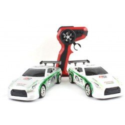 Scream 1:24 Scale Nissan GTR True Drift Car 4WD 2 Sets Wheels