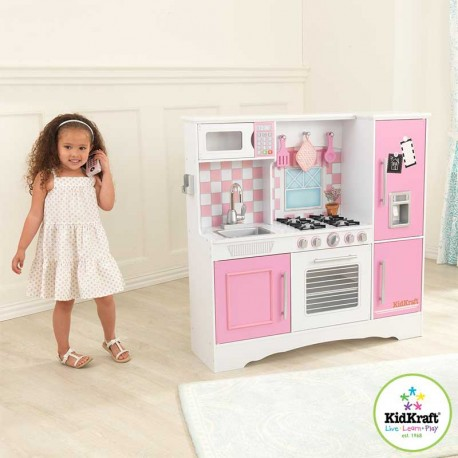 KidKraft Culinary Kitchen in Pastel (3+ Years)