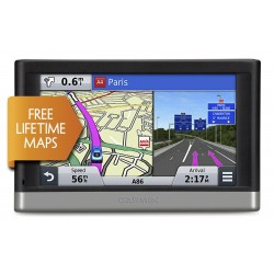 "Garmin NUVI 2567LM 5"" GPS Sat Nav UK & W.Europe Lifetime Maps, Traffic, B/Tooth"