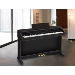 Casio CDP-230R Digital Piano, 88 Weighted Keys - Black, Ex-Display
