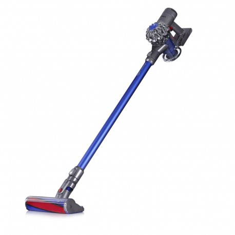 Dyson V6 Fluffy Cordless Vacuum Cleaner, 100 W - Blue
