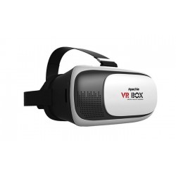 Apachie 3D Virtual Reality Headset With Bluetooth Remote Control - iOS, Android, Windows