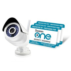 SwannOne SWO-SVC02K-UK SoundView Standalone HD WiFi Outdoor Camera IP66
