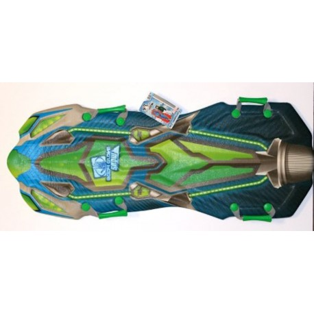 Body Glove Snow M7 1.4m Snow Sled With Parabolic Rails - Blue Glow - Ages 6+