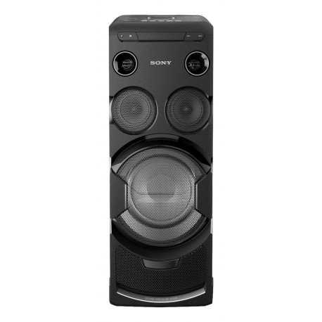 Sony MHC-V77DW High Power One Box Party Music System with Built-In Wi-Fi - Black