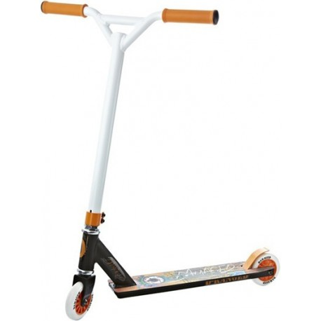 Damaged D-Ranged Kids Stunt Scooter, Tangerine, Freestyle BMX