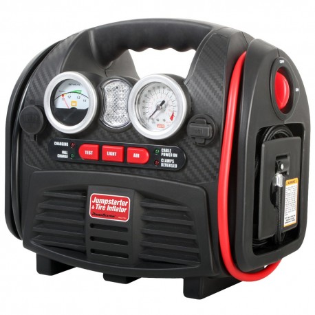 PowerStation PSX-3 18Ah Jumpstarter with Air Compressor and DC Outlet and USB Port