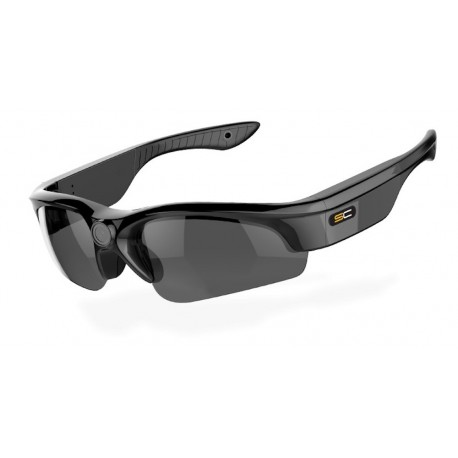 SunnyCam Sport Edition 1080p HD Video Recording Eyewear - 150 Degree Wide Angle, Interchangeable Lenses