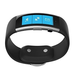 Microsoft Band 2 - Medium, Black - Monitors Heart Rate, Activity, Calorie, Sleep