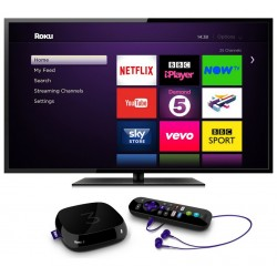 Roku 3 HD Digital TV WiFi Media Streamer 4200EU - 1400+ TV Channels + FREE
