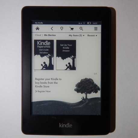 "Kindle Paperwhite (EY21) WiFi + 3G - 6"" eBook Reader"