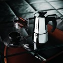 Bialetti Musa Induction Stainless Steel 6 Cup Espresso Maker