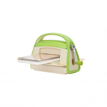 Cricut 2000293 Cuttlebug Embossing Machine, 14.4 by 12-Inch, Green