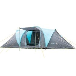 SKANDIKA HAMMERFEST 4 Person Tent with Sewn-in-Groundsheet, 2 Sleeping Pods, 2 Sun Canopy Porch