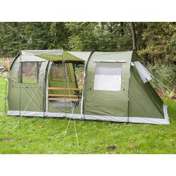 Skandika Gotland 4 Family Tunnel Tent with Sewn-In Groundsheet - RRP £429
