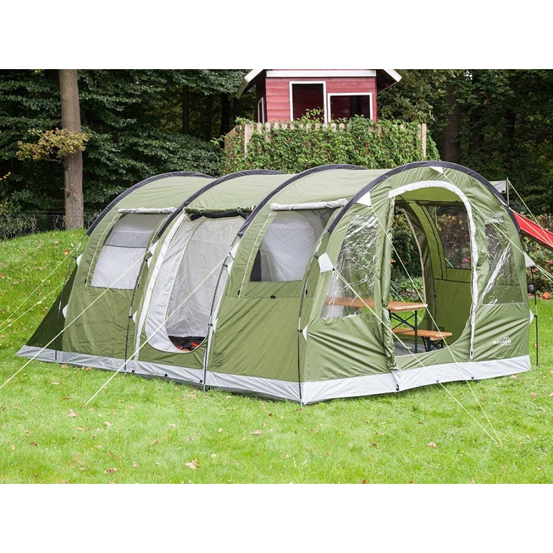 ... Skandika Gotland 5 Family Tent ...  sc 1 st  ThatOne.co.uk & Skandika Gotland 4 Family Tunnel Tent with Sewn-In Groundsheet ...