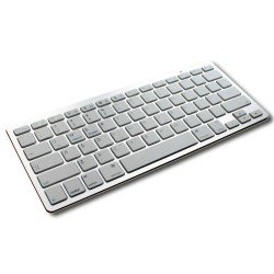 Universal Bluetooth 3.0 Wireless Keyboard V001 UK Layout for Apple iPad Wi-Fi