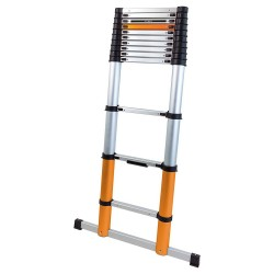 Batavia Giraffe Air 3.91m 12 Step Telescopic Ladder with Stabiliser - 7062759