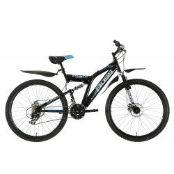 "Boss Stealth 26"" Dual Suspension Mountain Bike - Mens RRP £329"