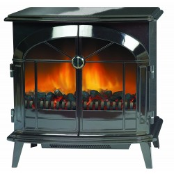 Dimplex SKG20BL Stockbridge Traditional Style Optiflame Stove, 2 Kw RRP £410