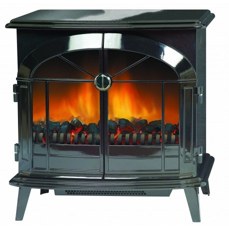 Dimplex SKG20BL Stockbridge Traditional Style Optiflame Electric Stove, 2 Kw