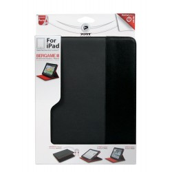 Port Designs Bergame III Portfolio for iPad 2/3/4 - Black/Red