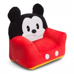 Delta Children - Mickey Mouse Clubhouse Inflatable Chair With Velour Cover