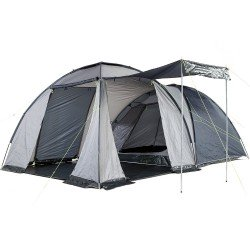 Skandika Bergen 4 Person Dome Tent - Blue/Grey - RRP £209