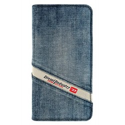 Diesel Cosmo Denim Folio Booklet Case iPhone 6/6S Indigo Denim